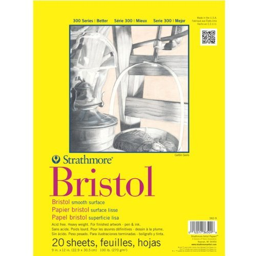 Strathmore Bristol Smooth, Pack of 2