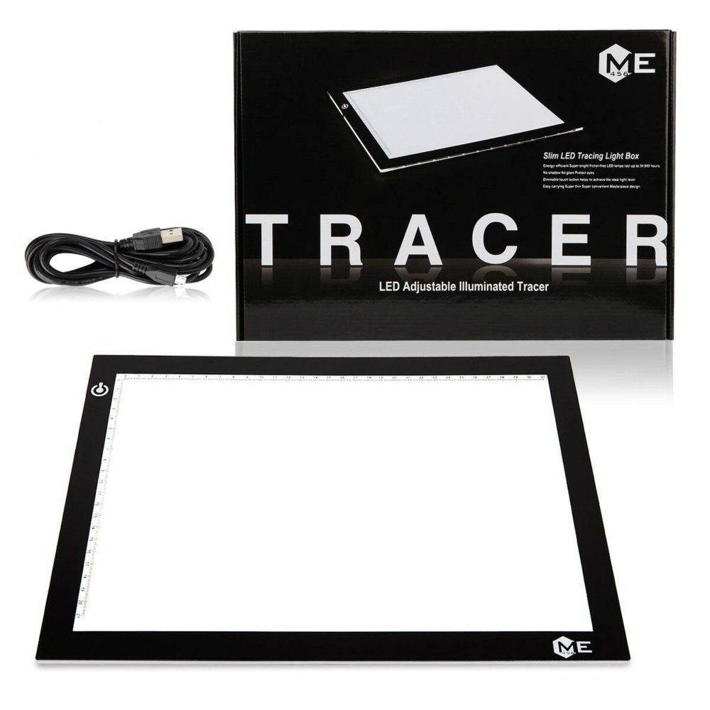 USB Power Light Table for Tracing