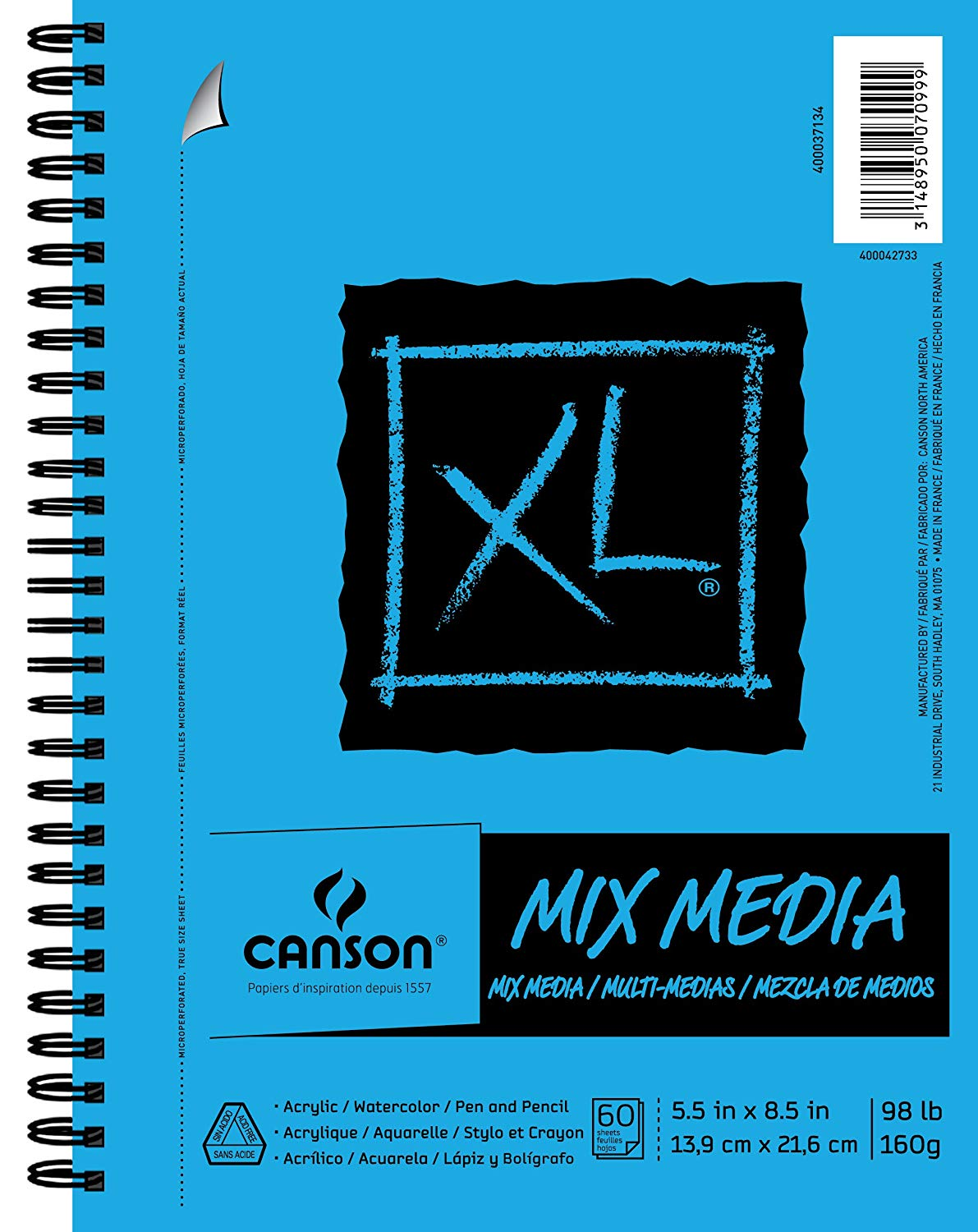 Canson Mix Media Paper Pad