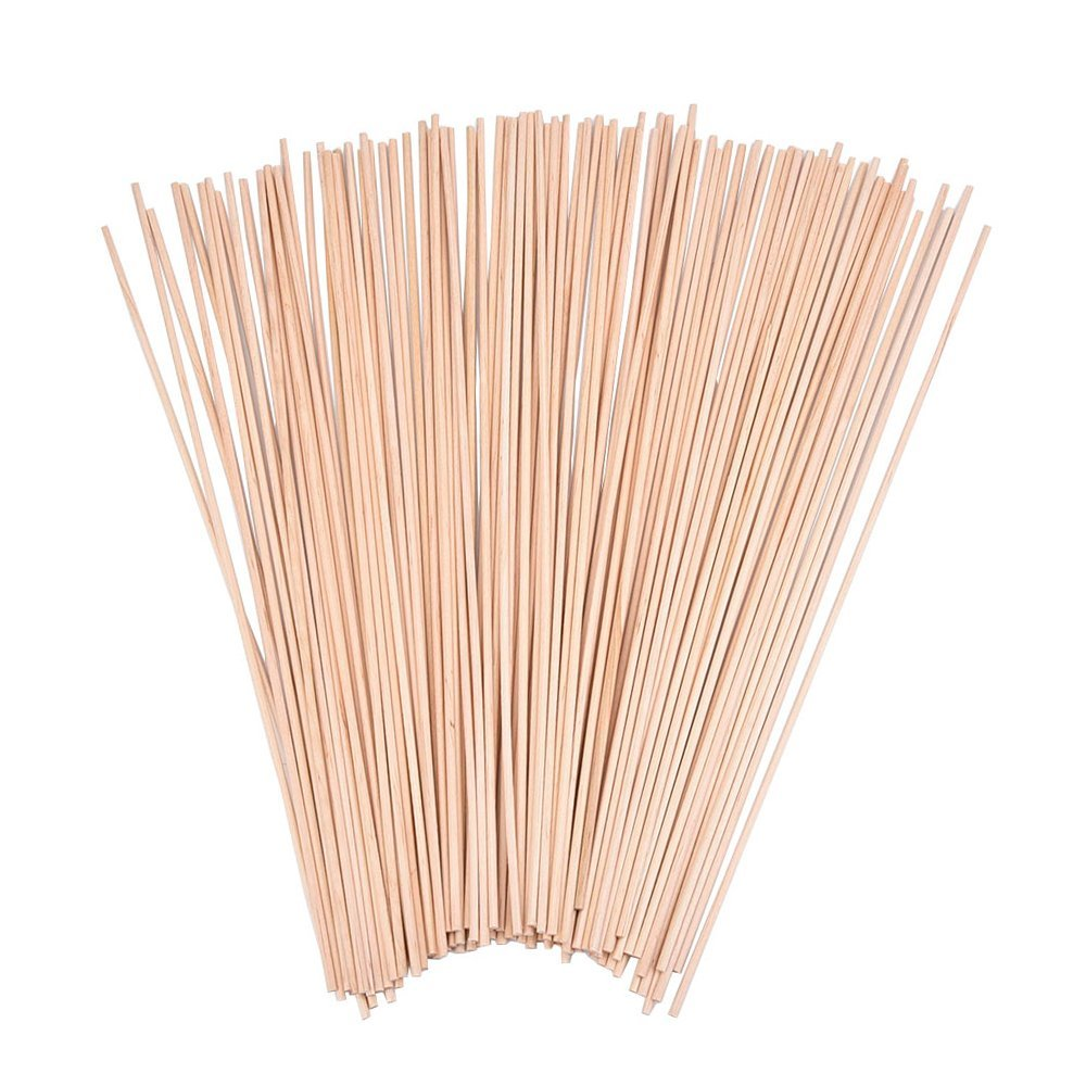 Wood Craft Dowel Rods, 100 Pack