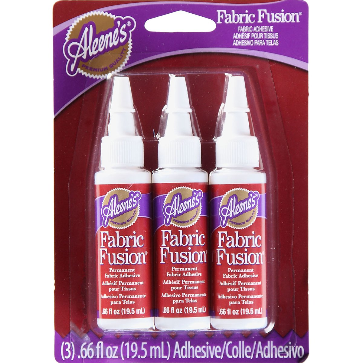 Fabric Glue, 3-Pack