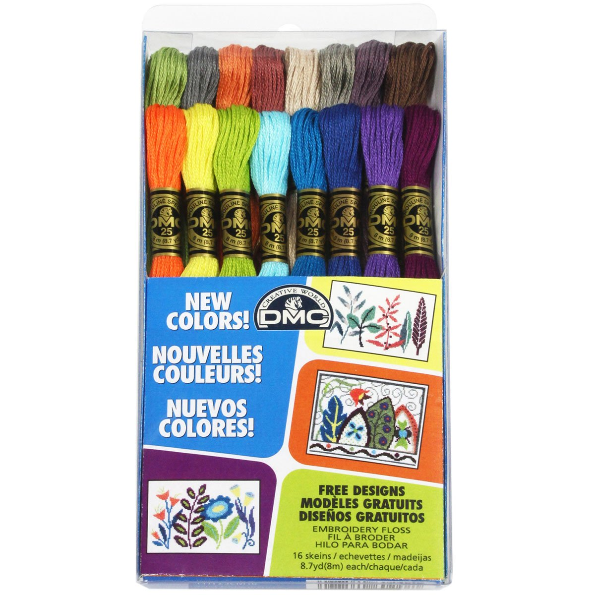 DMC Embroidery Floss Pack