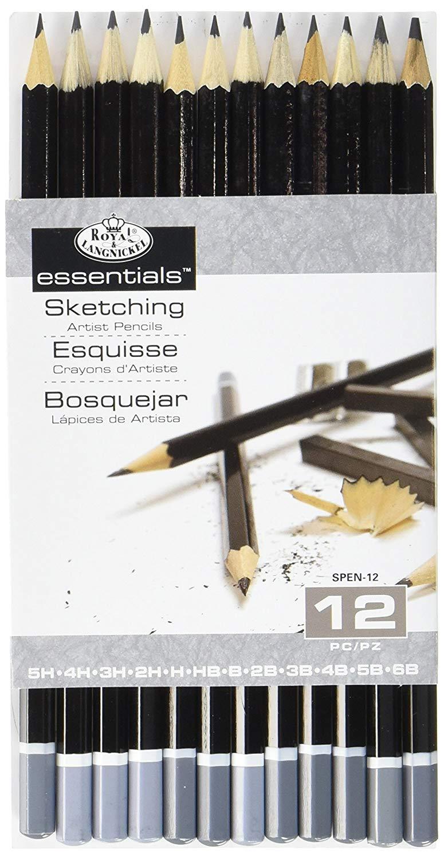 Sketching Pencil Set, 12-Piece