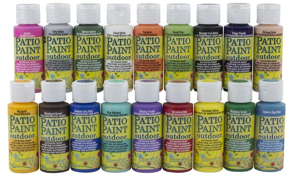 DecoArt Patio Paint Sampler