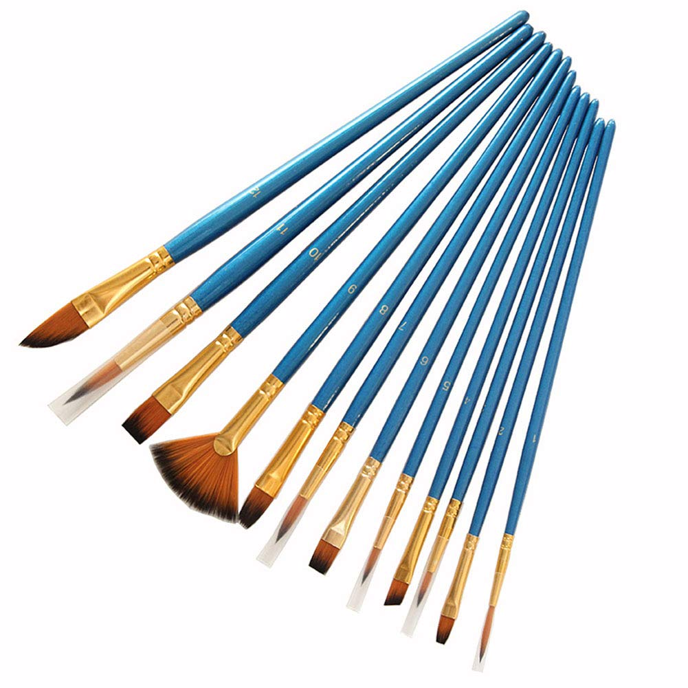 Fine Art Brush, Set of 12