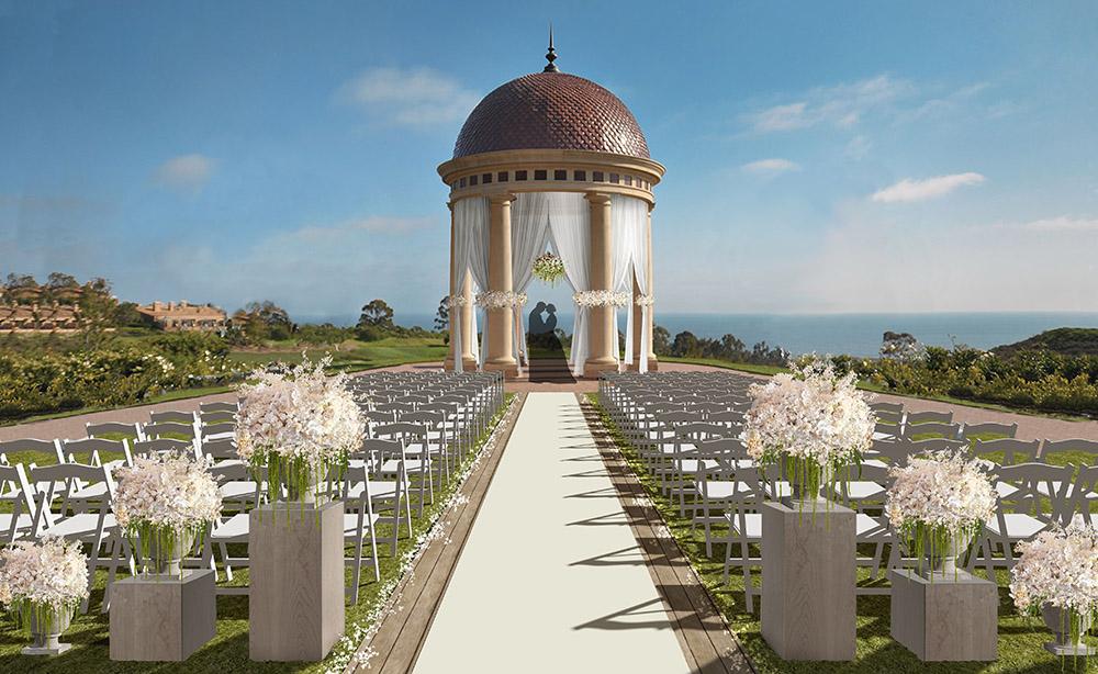 Wedding Ceremony Concept Rendering