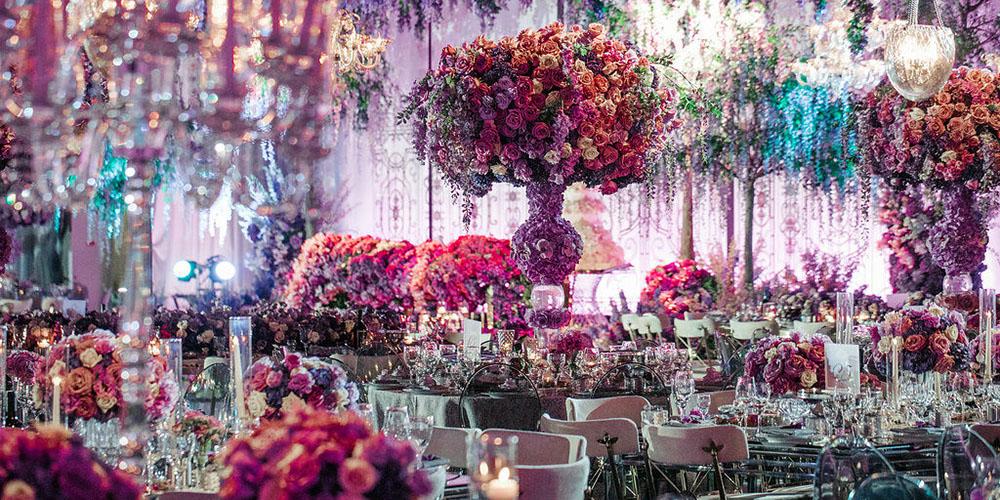 Wisteria Garden Wedding Design by Eddie Zaratsian