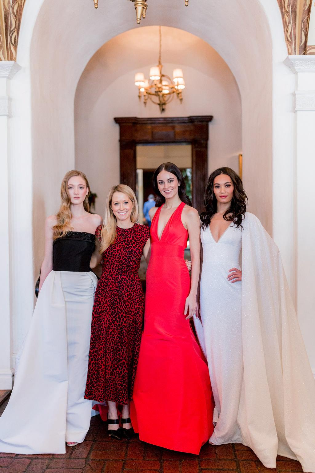 Fashion Designer Allison Webb at her Spring 2019 Bridal Fashion Event in LA, Photo by Jessica Grazia Mangia Photography