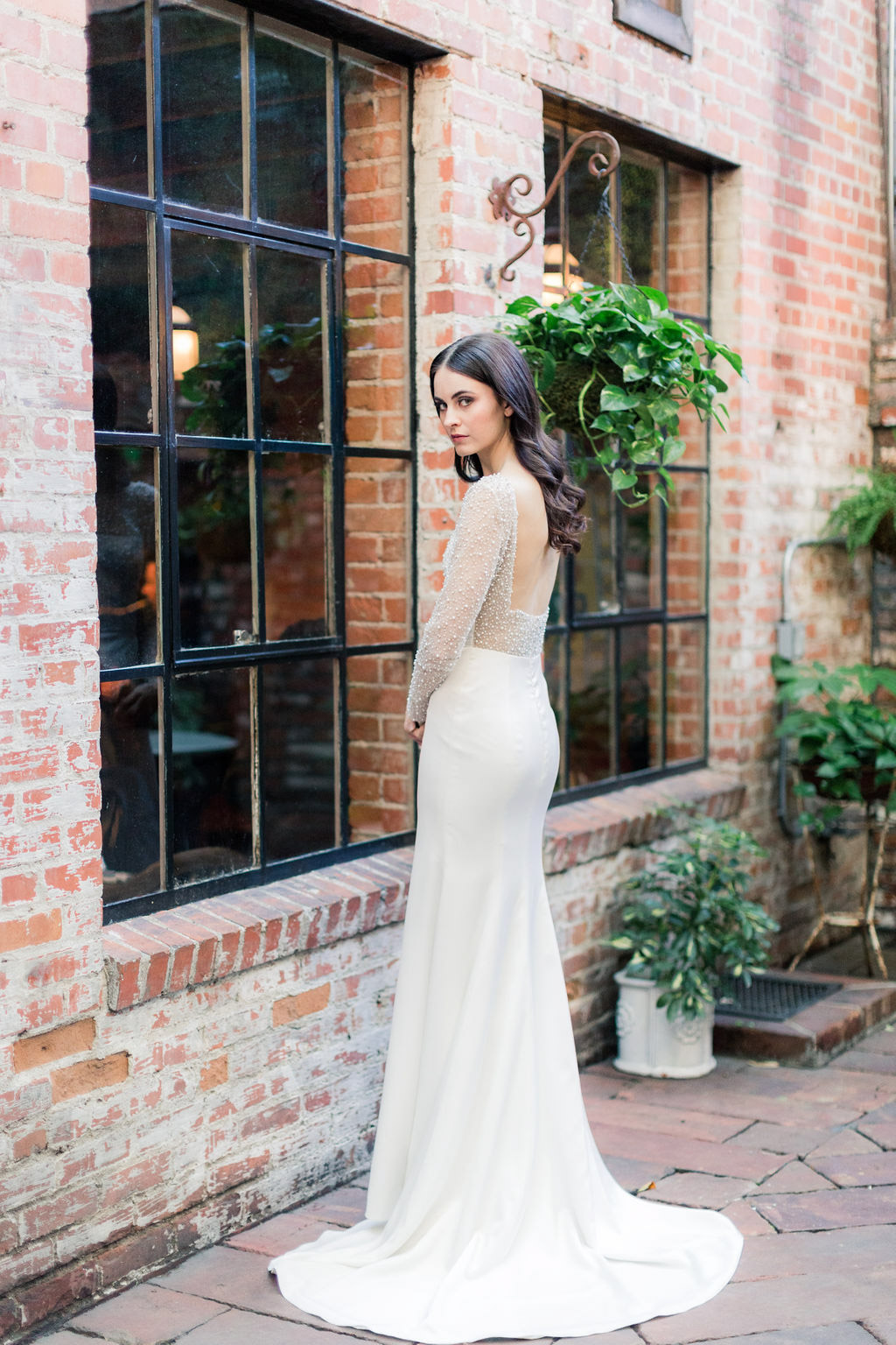 Alexa wedding dress from the Allison Webb Spring 2019 Bridal Fashion Event in LA, Photo by Jessica Grazia Mangia Photography