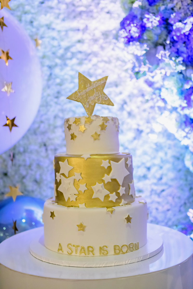 Andy Cohen Baby Shower Cake, Decor Design by Eddie Zaratsian - A Star Is Born!