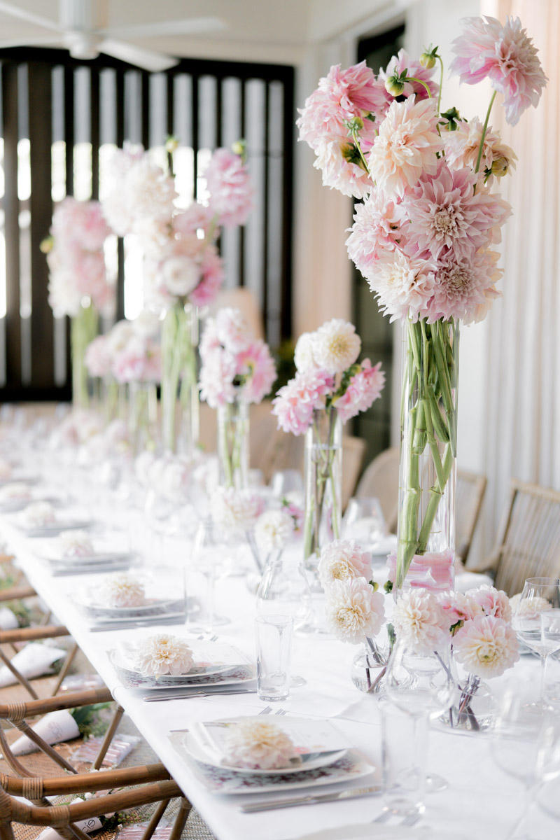 Lilit Cardanian & Elcie Cosmetics Lip Linyl launch party - pink party table settings by Eddie Zaratsian, photo by RTG Photography
