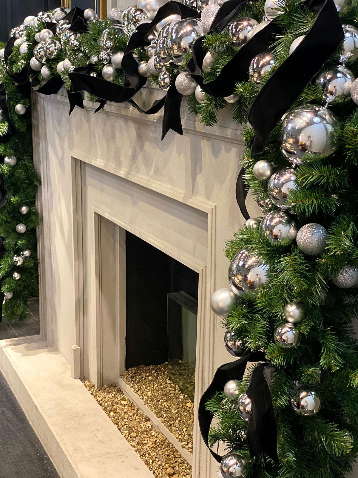 Holiday Season Decorating Ideas Fireplace Mantels Eddie Zaratsian Lifestyle Design