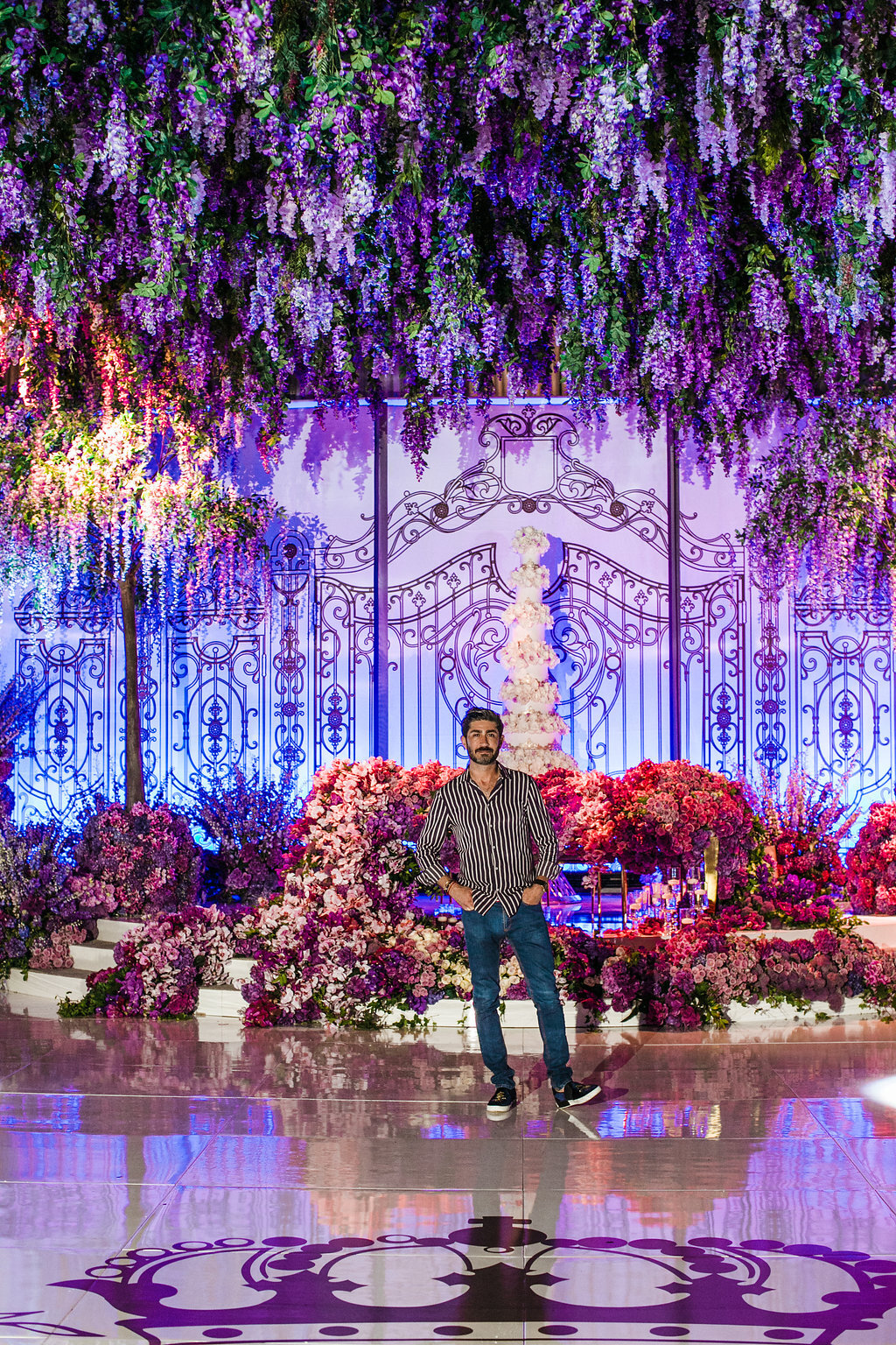 Eddie Zaratsian - Los Angeles Florist & Event Designer, photo by Jessica Claire Photography