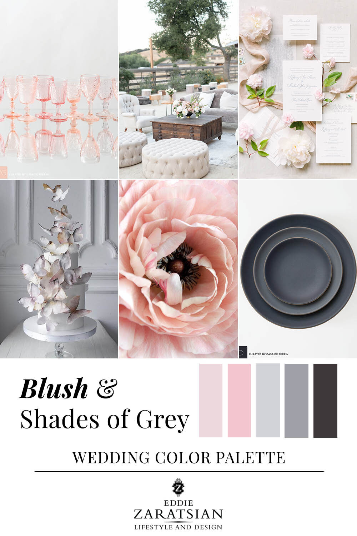 3 Blush Pink Wedding Color Palettes For Fall Eddie Zaratsian Lifestyle Design