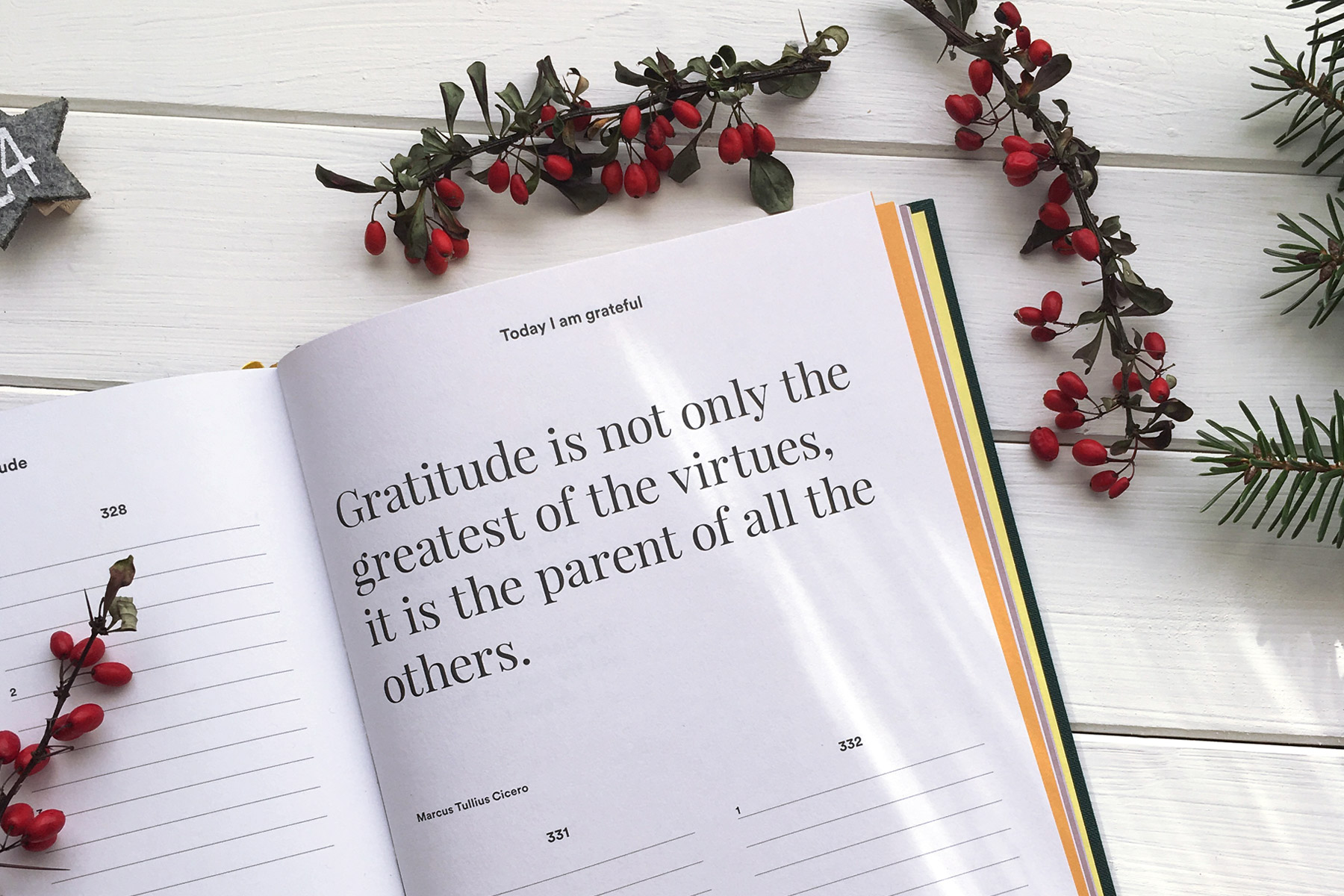Gratitude is not only the greatest of the virtues... - image by The Gratitude Attitude