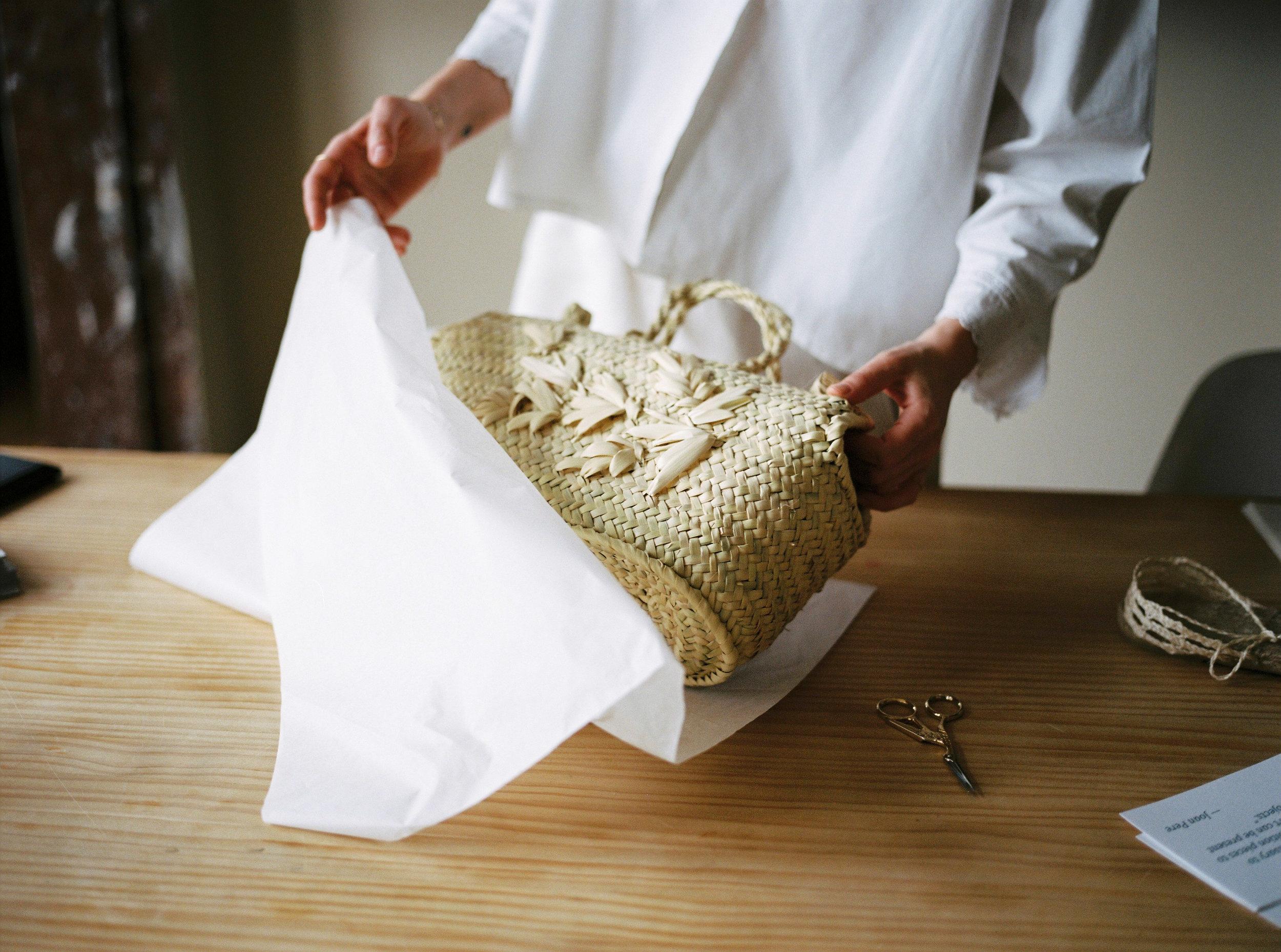 basket bag handmade sabellar spanish artisans