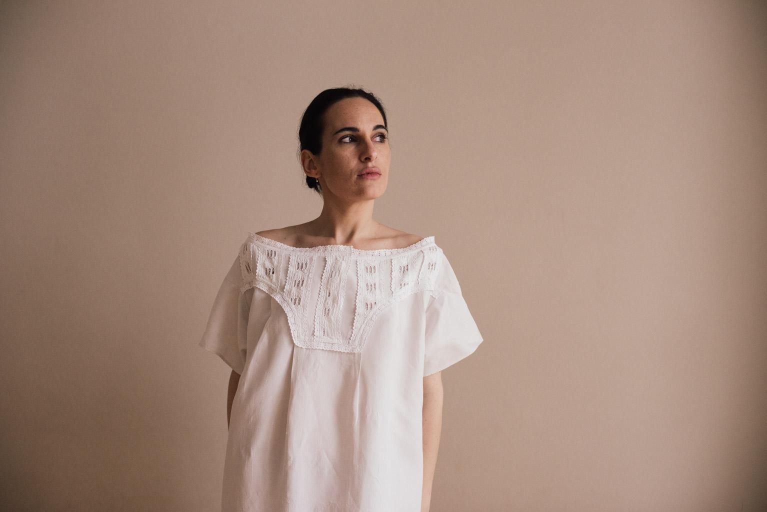 majorcan blouse vintage fashion sustainable