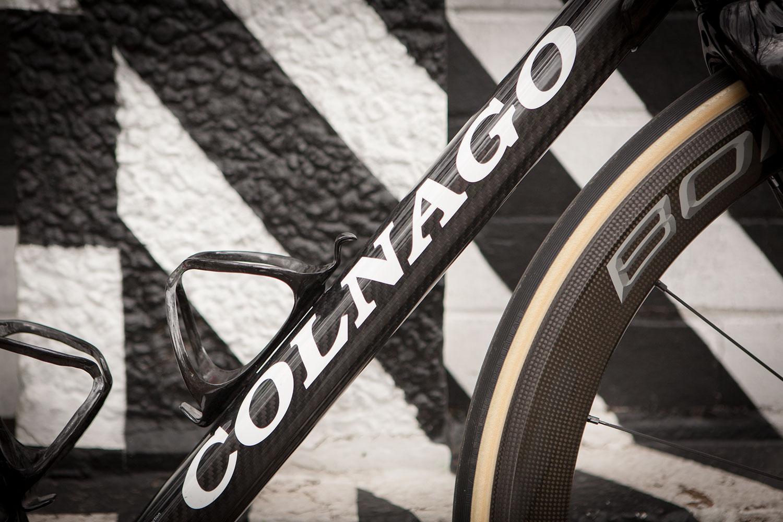 Colnago C60 frameset in RSCG colours custom built at Super Domestique.
