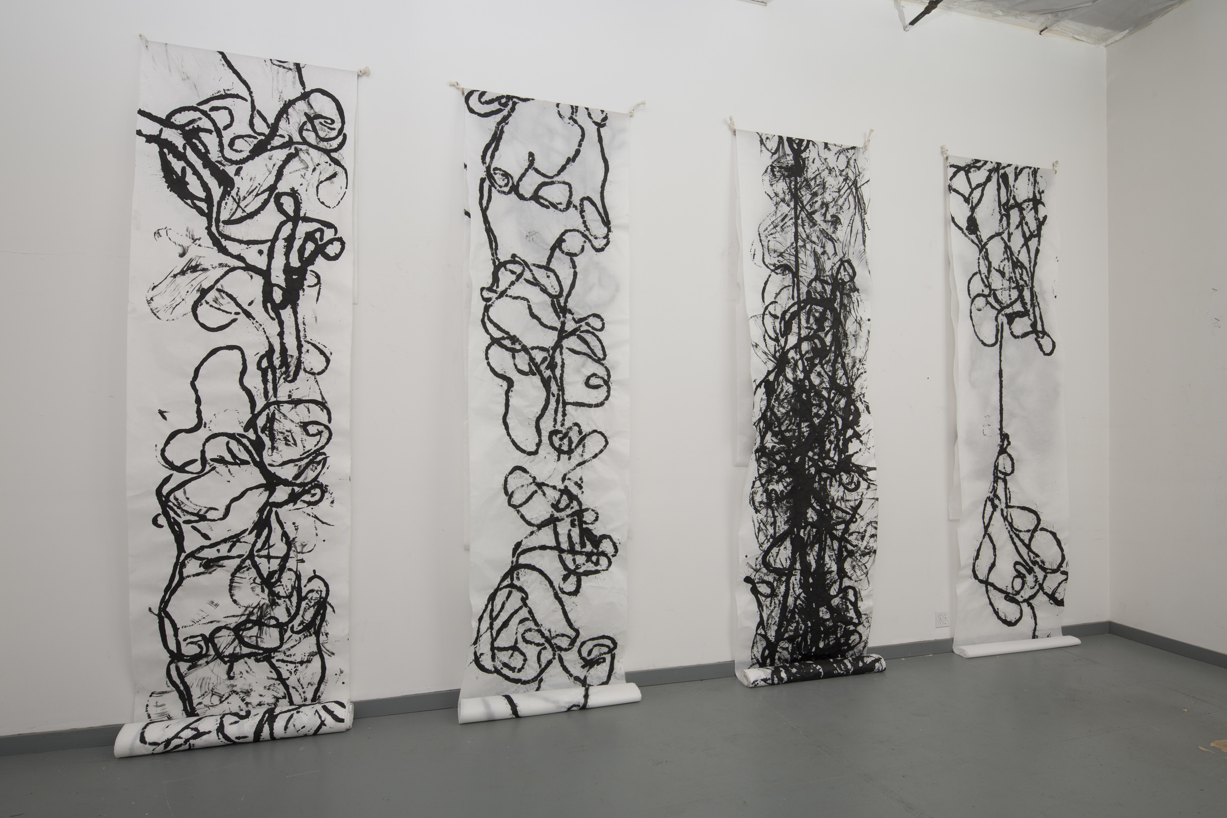 Transcripts and Readings Installation View
