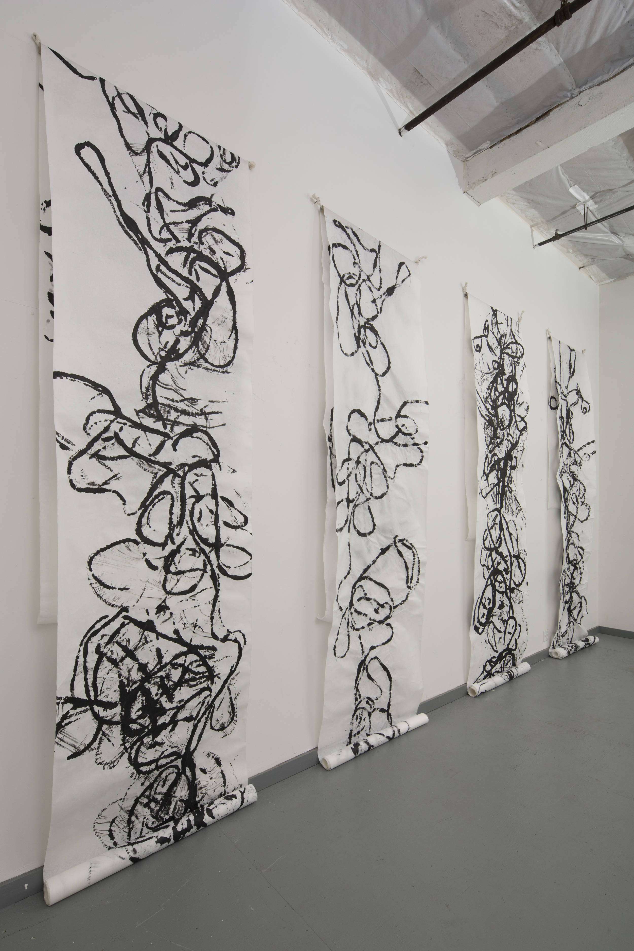 Transcripts and Reading Installation View