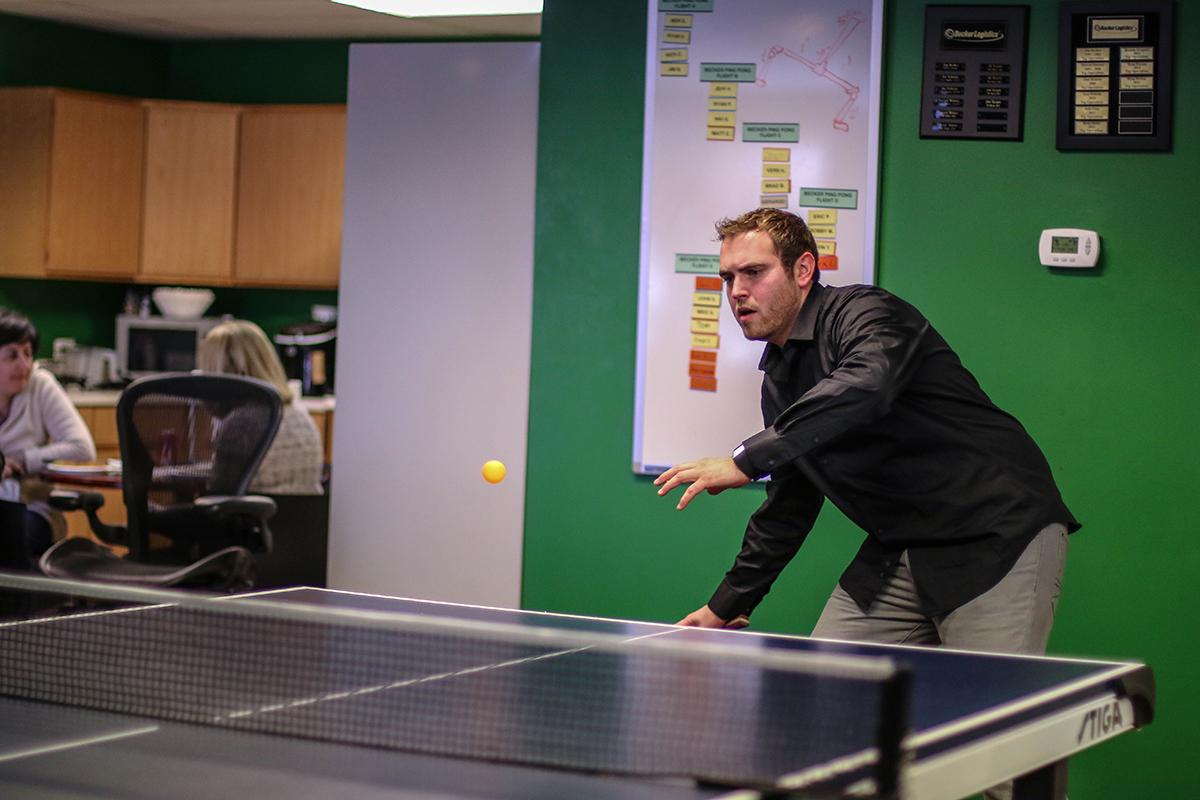 Becker Logistics Ping Pong