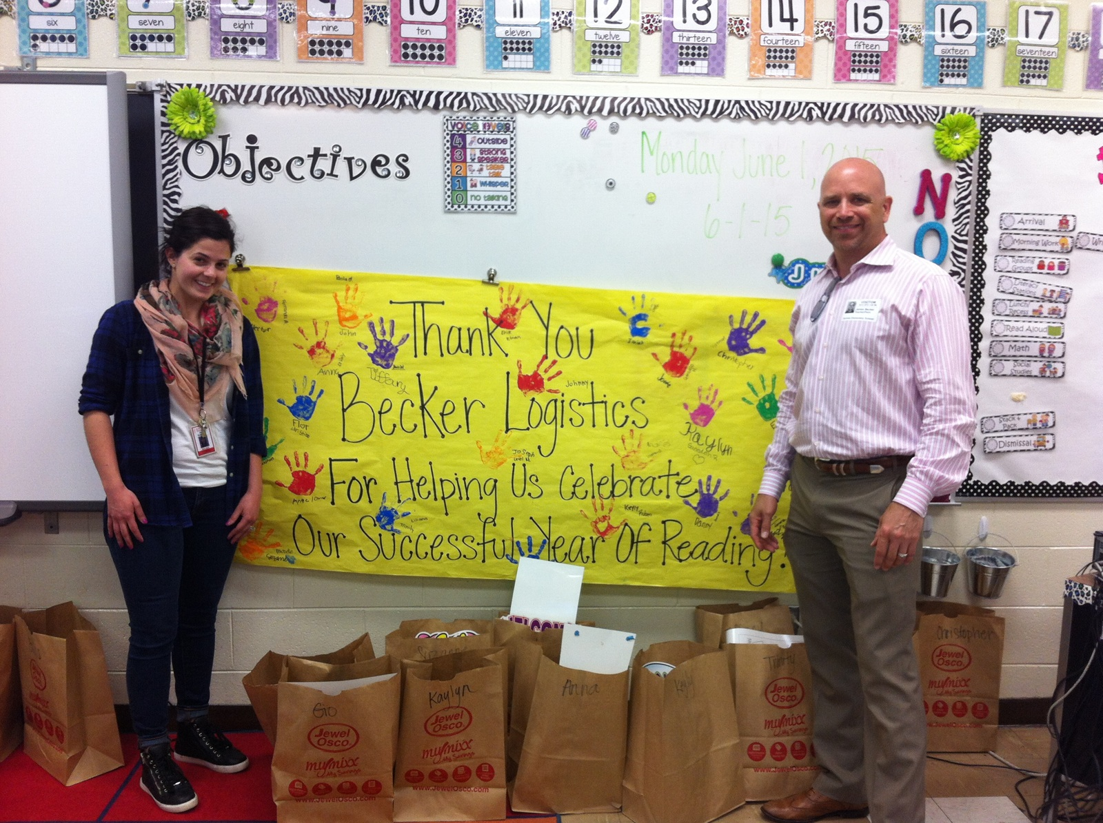 Becker Logistics giving back