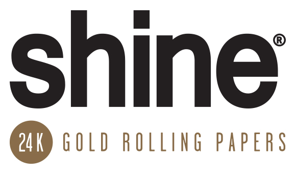 Shine 24K gold rolling papers.