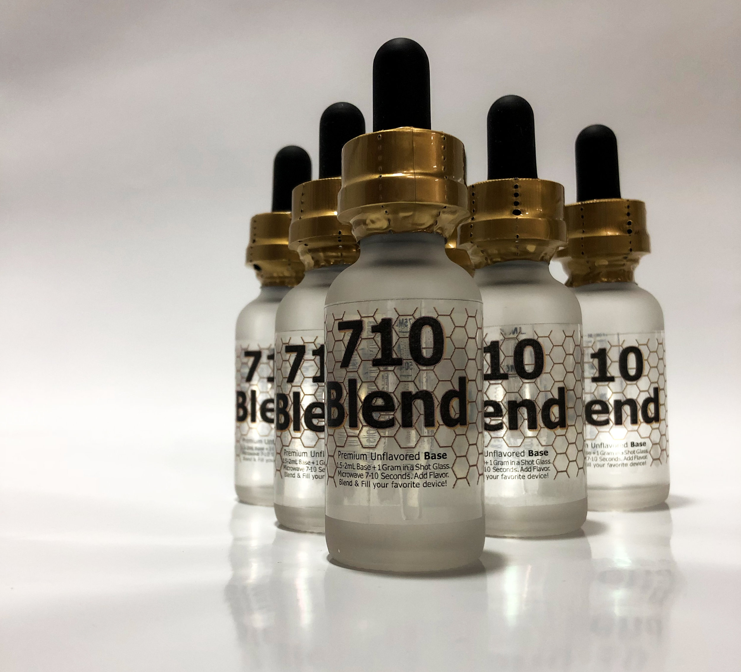 710 Blend is a base for making DIY cartridges. This product will allow you to take your favorite wax, oil, or concentrate and easily make refills for your favorite device. With 710 Blend we were focused on a easy to use product that people would love.