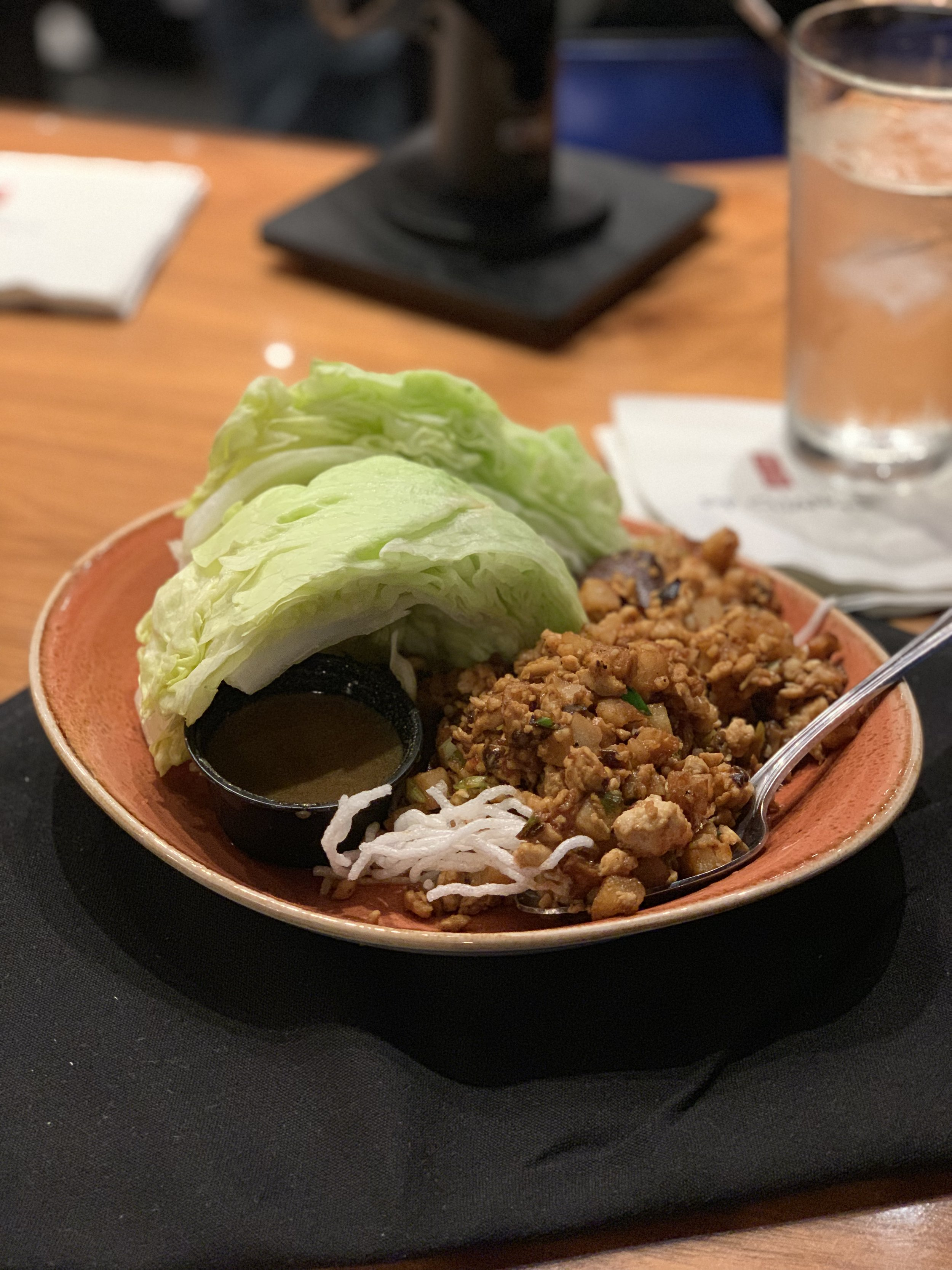 Can't go wrong with Lettuce Wraps!