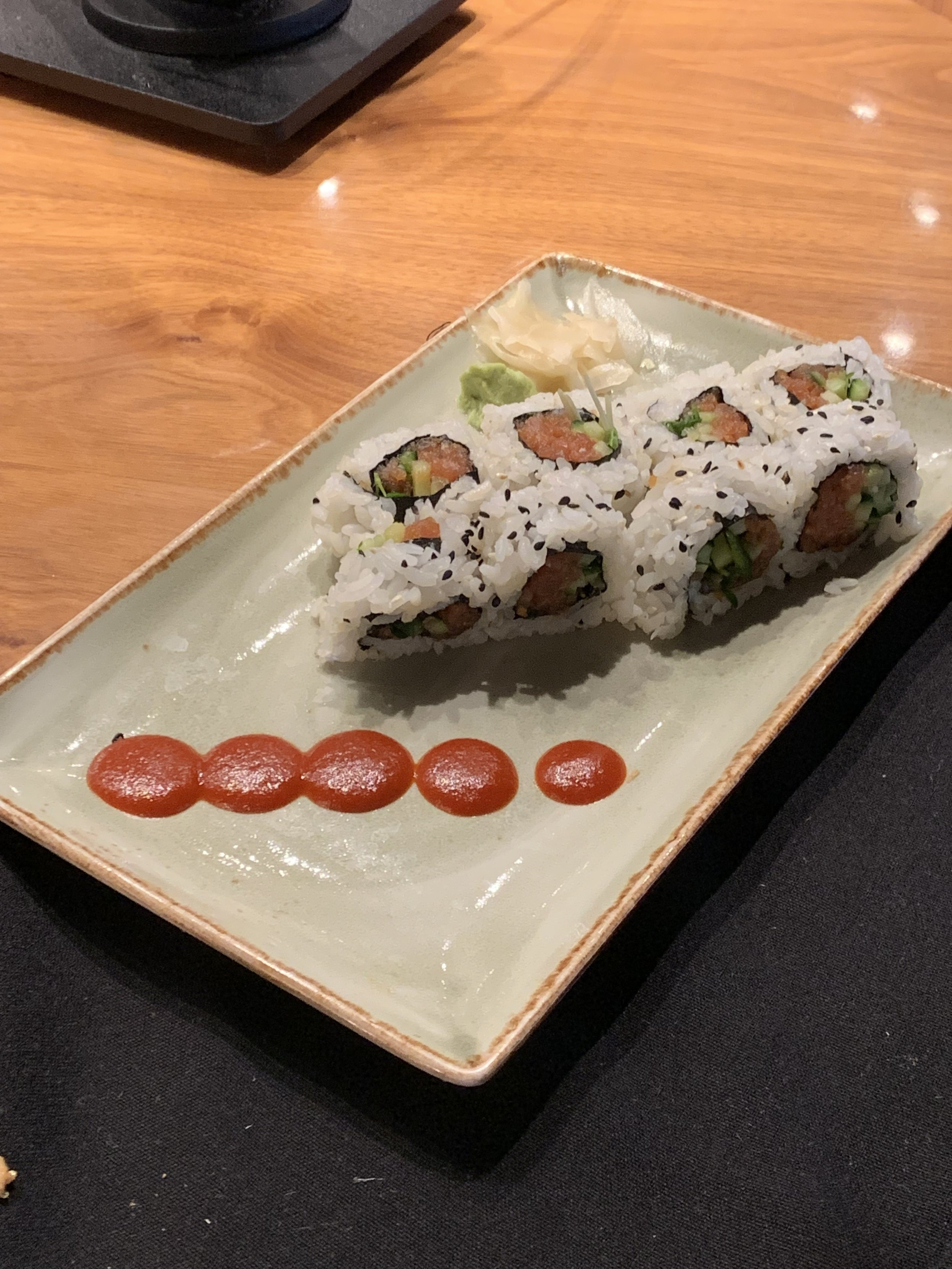 Very mediocre sushi