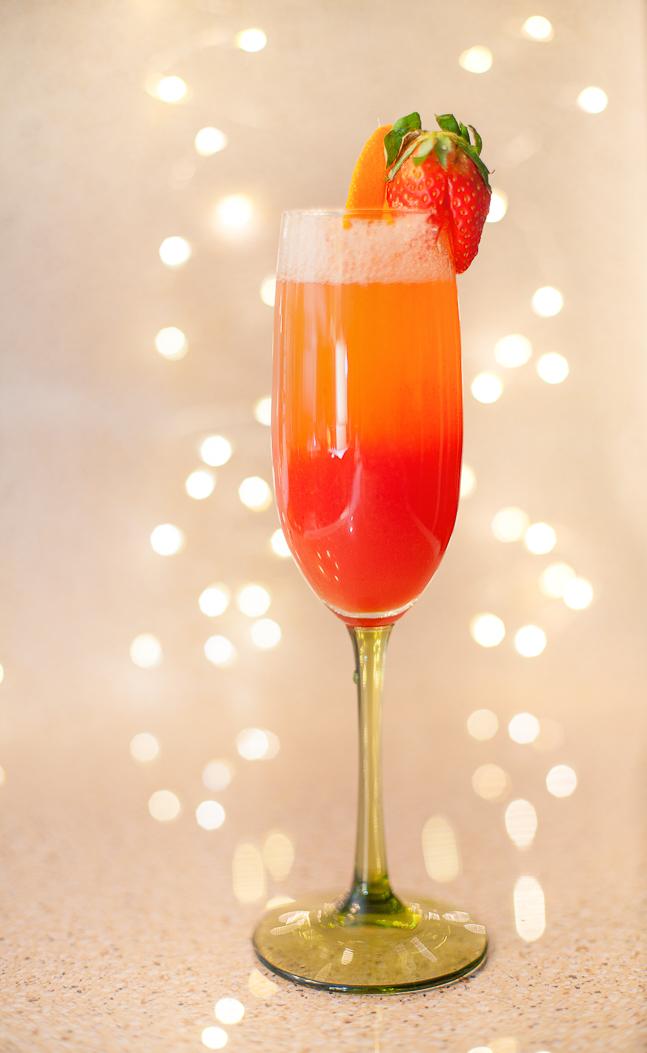 Strawberry Orange Mimosa