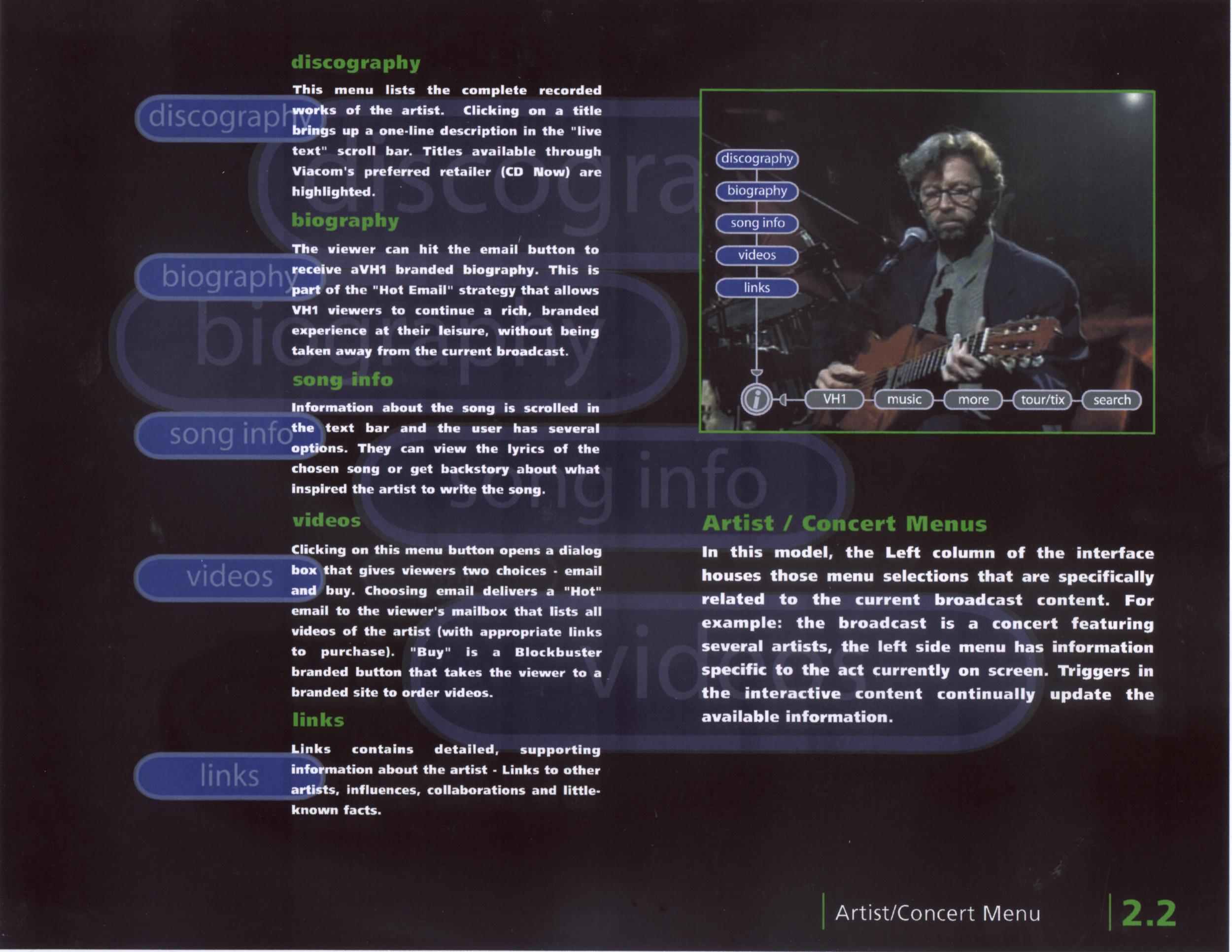 VH1 Interactive Concert (Random Order)