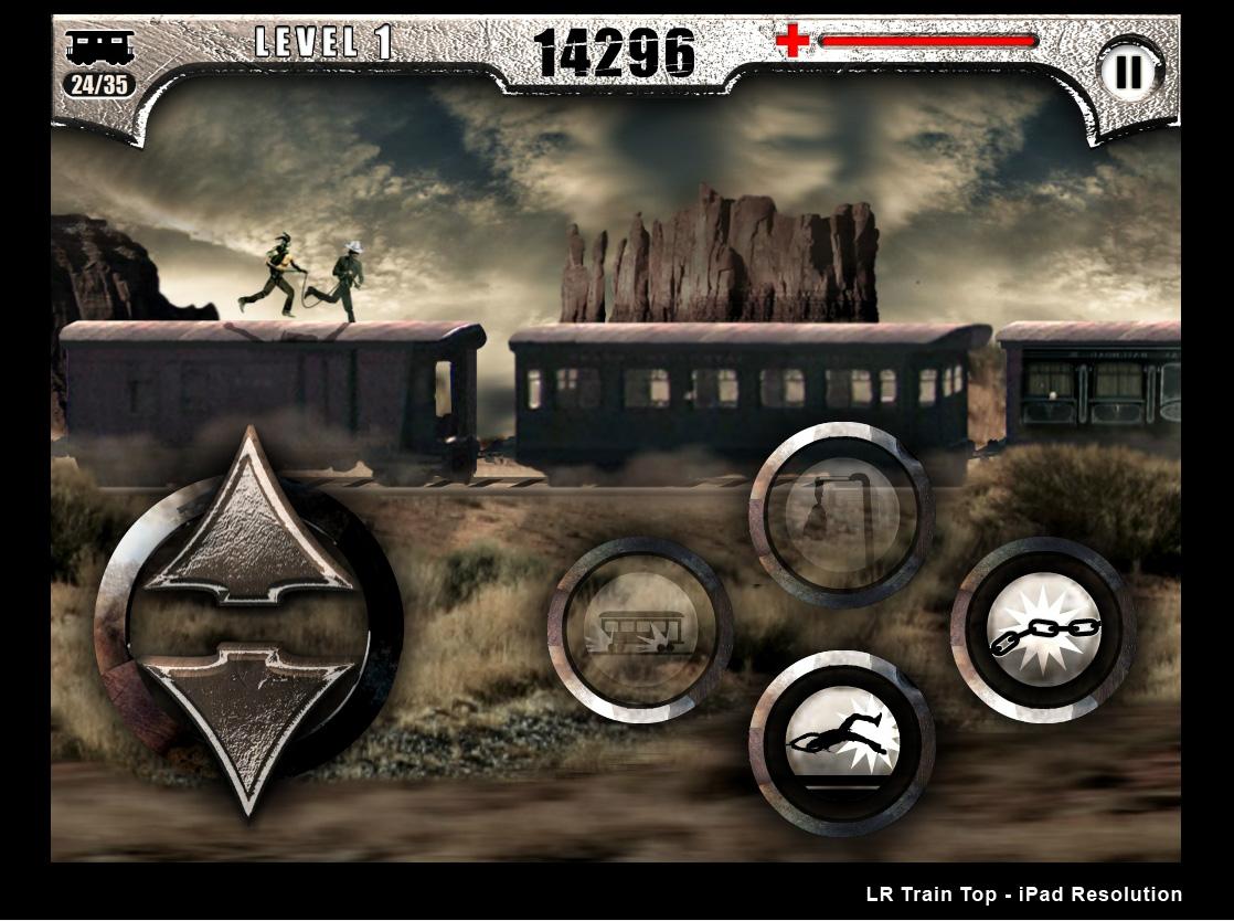 The Lone Ranger: Train Top Sprint