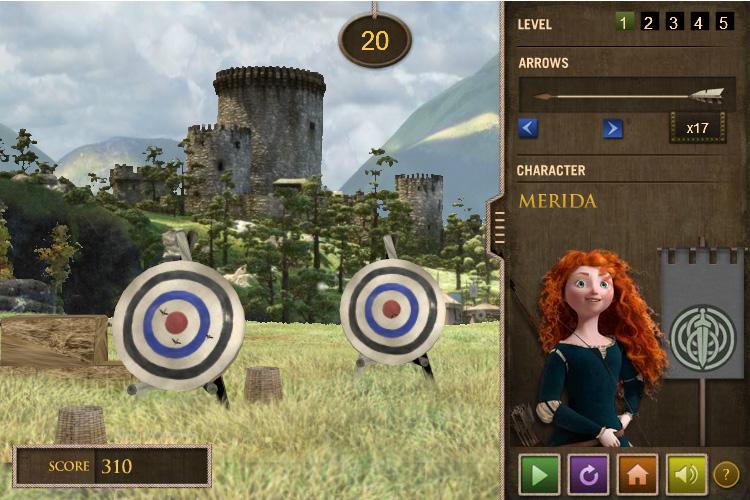 Brave: Ultimate Target Challenge