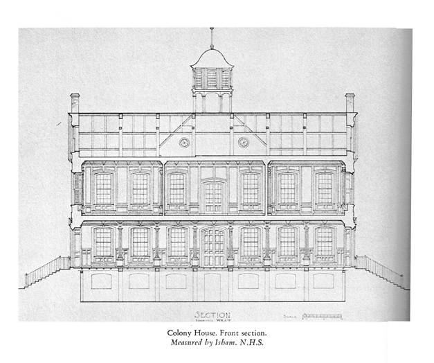 Colony House, Front Section.