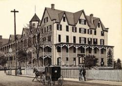 The Ocean House, circa 1844, stood where the current Stop & Shop Plaza is today.