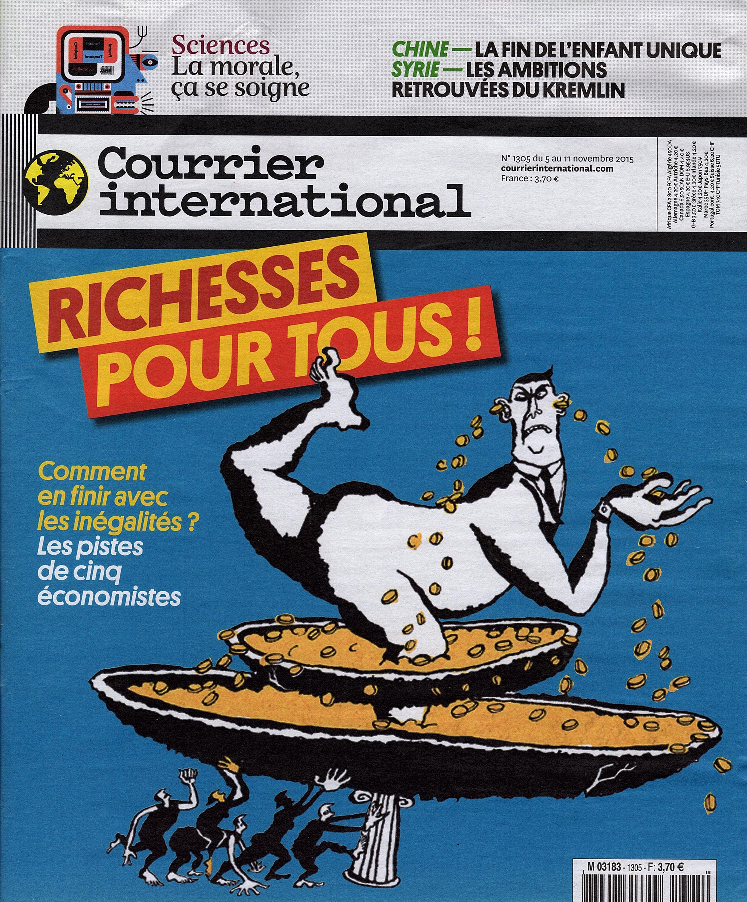 Courrier International N1305 Cover.jpg