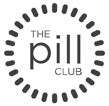 B&W - Pill Club logo.png