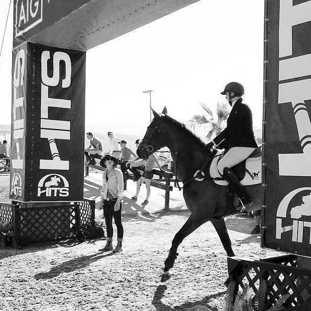 """At The Four Winds, it is believed that rider accountability and responsibility is key to a successful riding career. - A successful Grand Prix rider once said, """"We make our own luck."""" There is a rare moment in this sport that riders can leave unaccounted for. Most scenarios are controllable including but not limited to: spooks, bucks, stops, pace, etc. Sometimes this means we condense the arena and making the exercises smaller; sometimes it means longing, turning out."""
