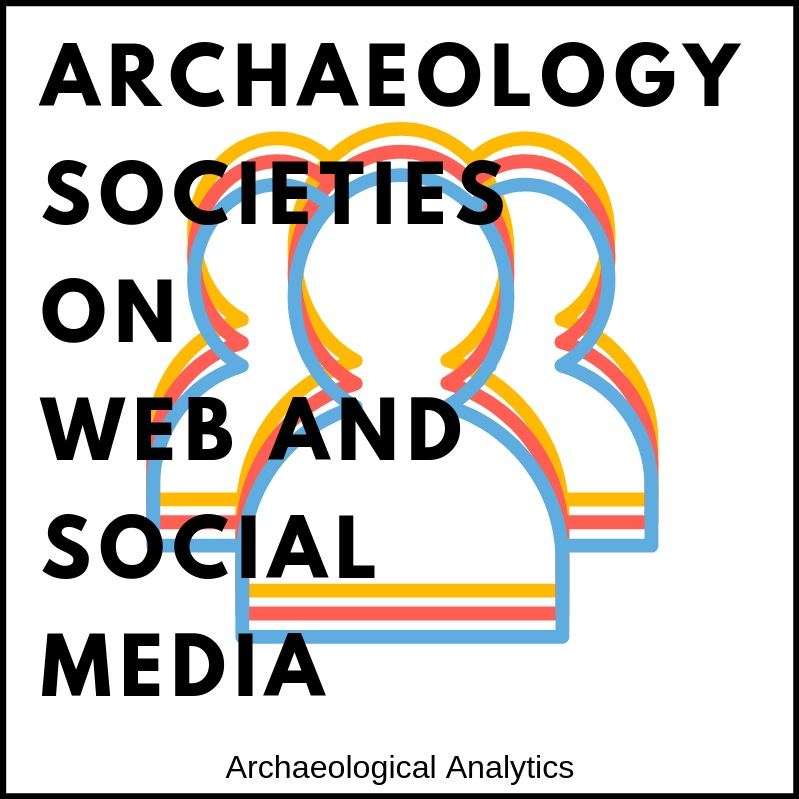 Archaeological Societies on Web and Social Media