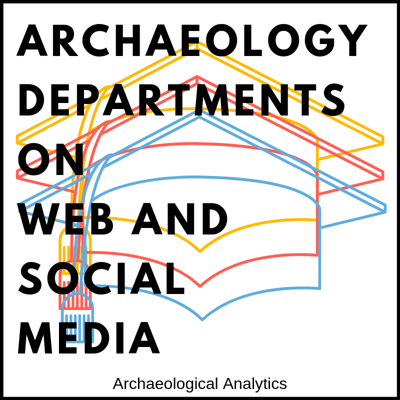 Archaeological Departments on Web and Social Media