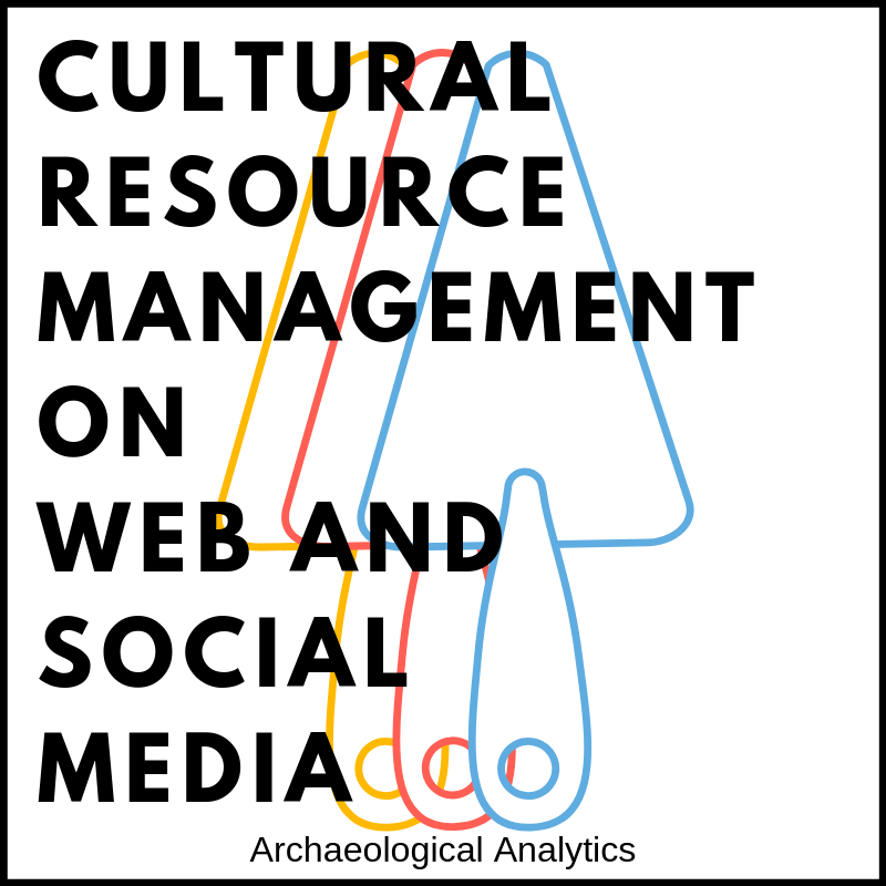 Cultural Resource Management on Web and Social Media