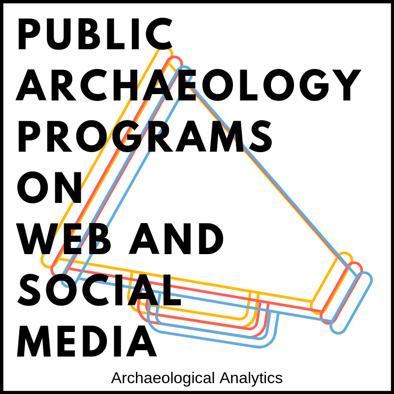 Public Archaeology Programs on Web and Social Media