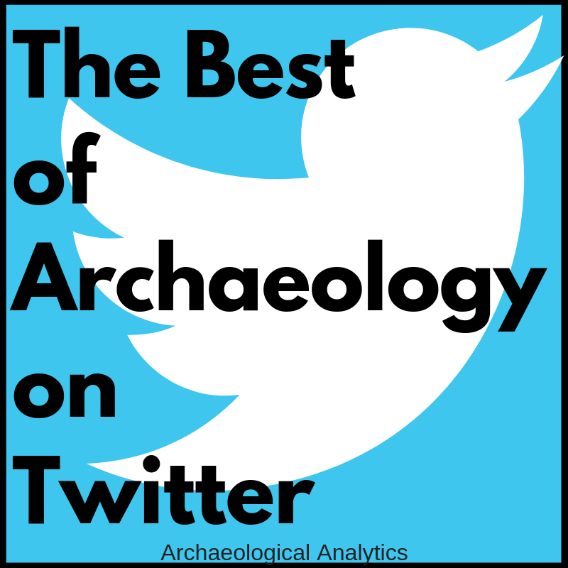 Archaeology on Twitter