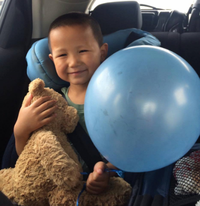 Meet Ian, a 4-year-old cutie looking for a forever family. See pictures and videos from his host family by clicking on his picture.