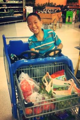 DJ in a Rocket Cart