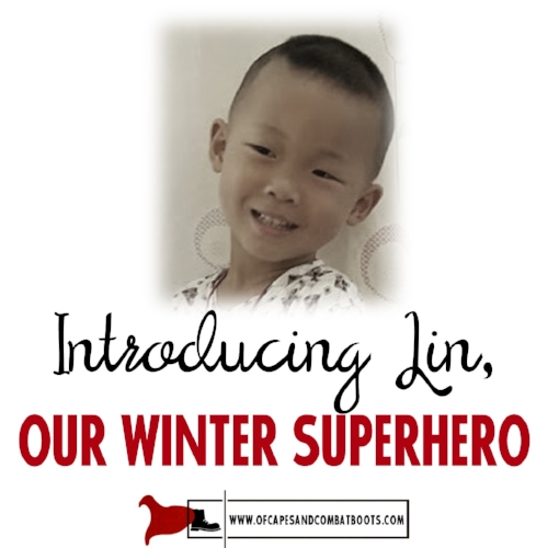 Introducing Lin, Our Winter Superhero