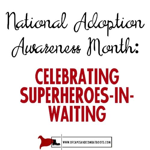 National Adoption Awareness Month
