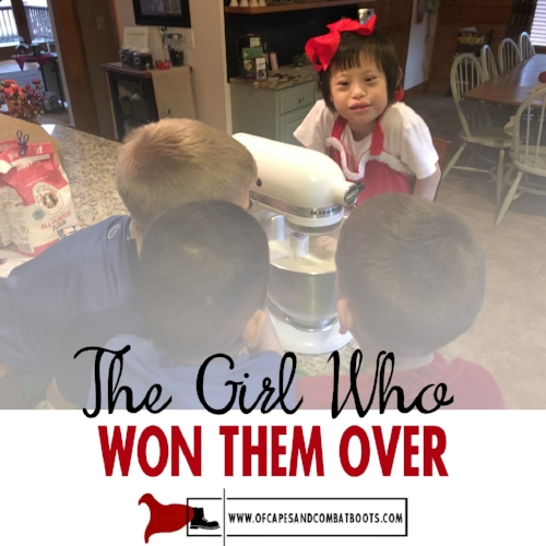 The Girl Who Won Them Over