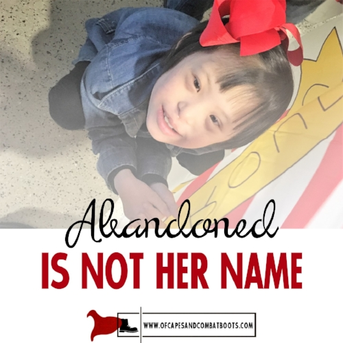 Abandoned is Not Her Name